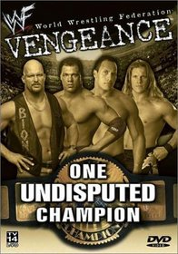 WWE Vengeance 2001 - One Undisputed Champion