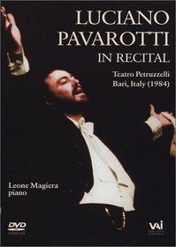 Luciano Pavarotti in Recital - Bari, Italy 1984