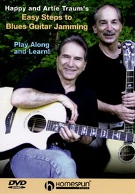 DVD-Happy and Artie Traum's Easy Steps to Blues Guitar Jamming