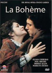 Puccini - La Boheme / Neil Shicoff, Ileana Cotrubas, Thomas Allen, Marilyn Zschau, Gwynne Howell, Lamberto Gardelli, Covent Garden Opera