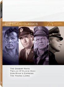 Classic Quad Set 12 (The Desert Rats / Twelve O'Clock High / Von Ryan's Express / The Young Lions)
