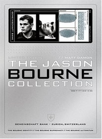 The Jason Bourne Collection (The Bourne Identity / The Bourne Supremacy / The Bourne Ultimatum)