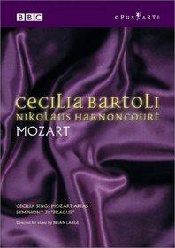 """Cecilia Bartoli, Nikolaus Harnoncourt - Mozart / Cecilia sing Mozart Arias, Symphony 38 """"Prague"""""""