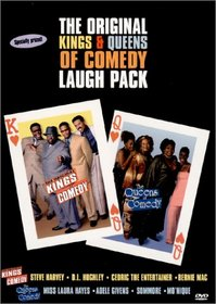 The Original Kings of Comedy/ Queens of Comedy Gift Set
