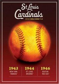 MLB Vintage World Series Films - St. Louis Cardinals 1943, 1944 & 1946