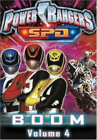 Power Rangers SPD - Boom (Vol. 4)