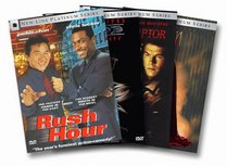 Full Force New Line Platinum Series DVD 4-Pack (Blade/Rush Hour/The Corruptor/Spawn)