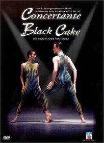 Concertante/Black Cake