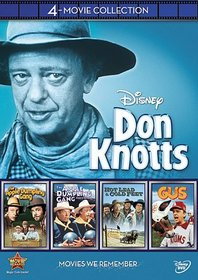 Disney 4-Movie Collection: Don Knotts (Apple Dumpling Gang / Apple Dumpling Rides Again / Gus / Hot Lead & Cold Feet)