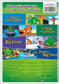 The Land Before Time VI-IX 4-Movie Family Fun Pack (The Secret of Saurus Rock / The Stone of Cold Fire / The Big Freeze / Journey to Big Water)