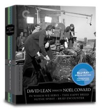 David Lean Directs Noel Coward (In Which We Serve, This Happy Breed, Blithe Spirit, Brief Encounter) (Criterion Collection) [Blu-ray]