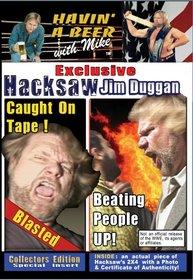 WWE Hacksaw Jim Duggan, Caught on Tape!(COMES WITH 2x4 Chip!)
