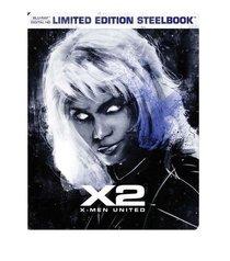 X2: X-Men United Limited Edition Steelbook (Blu Ray + Digital HD)
