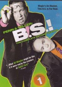 Penn & Teller: B.S.! - The Complete Second Season (Volume 1)