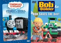 Thomas and Friends: Steamies vs. Diesels/Bob the Builder: Bob Saves the Day