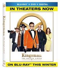 Kingsman: The Golden Circle (BD + DVD + Digital) [Blu-ray]