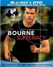 Bourne Supremacy (Single-Disc Blu-ray/DVD Combo)