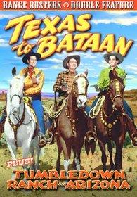 Range Busters: Texas To Bataan (1942) / Tumbledown Ranch In Arizona (1941)
