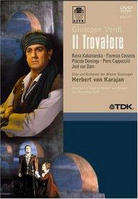 Verdi - Il Trovatore / Domingo, Kabaivanksa, Cossotto, Cappuccilli, van Dam, Zednik, von Karajan, Vienna Opera