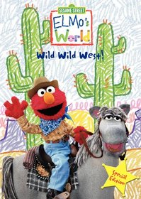 Elmos World Wild Wild West Special Edition Dvd With Kevin