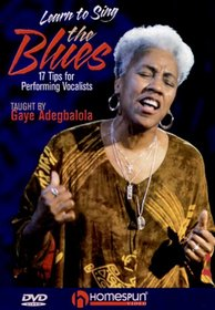 DVD-Learn to Sing the Blues- 17 Tips for Performing Vocalists