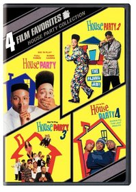House Party Collection: 4 Film Favorites