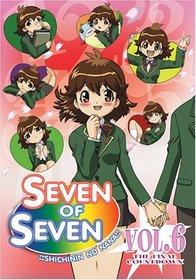 Seven of Seven,- Shichinin No Nana, Vol. 6: The Final Countdown