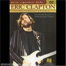 Hal Leonard Eric Clapton - The Solo Years DVD