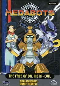 Medabots - The Face of Dr. Meta-Evil (Vol. 6)