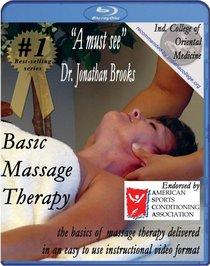 Basic Massage Therapy Instructional Video [Blu-ray]