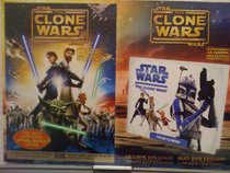 Star Wars The Clone Wars (Widescreen Movie with Book)