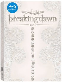 Twilight Breaking Dawn Part 1 Blu-ray with EXCLUSIVE Wedding Photo Fabric Poster and music videos!