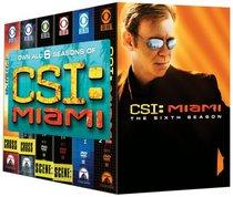 C.S.I. Miami - Seasons 1-6