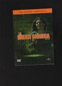 The Bionic Woman (La Mujer Bionica) First Season 4 DVD Collectors Series [NTSC/REGION 1 & 4 DVD. Import-Latin America]