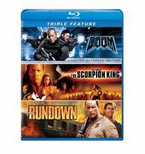 Doom / The Scorpion King / The Rundown Triple Feature [Blu-ray]