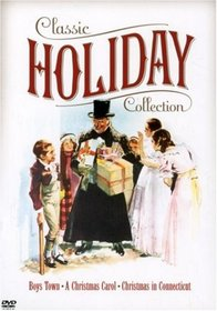 Warner Bros. Classic Holiday Collection (Boys Town / A Christmas Carol 1938 / Christmas in Connecticut)