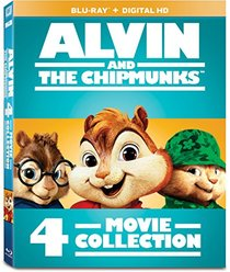 Alvin and the Chipmunks 4-Movie Collection [Blu-ray]