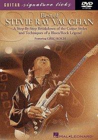 Stevie Ray Vaughan: Guitar Signature Licks (Instructional)