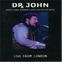 Dr. John With Chris Barber's Jazz and Blues Band: Live in London