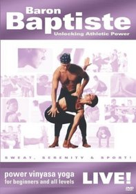 Baron Baptiste: Unlocking Athletic Power - Power Vinyasa Yoga Live! (For Beginners and All Levels)