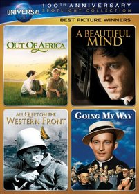 Best Picture Winners Spotlight Collection [Out of Africa, A Beautiful Mind, All Quiet on the Western Front, Going My Way] (Universal's 100th Anniversary)