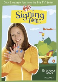 Signing Time Volume 3: Everyday Signs DVD