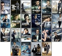 James Bond 007 22 DVD Collection 50th Anniversary Repackage (Dr No, From Russia with Love...)