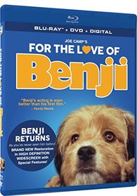 For The Love Of Benji - BD + DVD + Digital [Blu-ray]