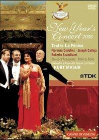 New Year's Concert 2006 - La Fenice / Fiorenza Cedolins, Joseph Calleja, Roberto Scandiuzzi, Kurt Masur