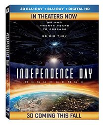 Independence Day: Resurgence [3D Blu-ray]