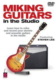 Cherry Lane Miking Guitars in the Studio (DVD)
