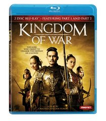 Kingdom of War Part 1 and Part 2 [Blu-ray]