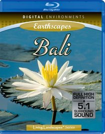 Living Landscapes: Earthscapes - Bali [Blu-ray]