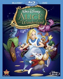 Alice In Wonderland (60th Anniversary Edition) (Two-Disc Blu-ray/DVD Combo)